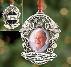 Check out Personalized Merry Christmas from Heaven™ Ornament from Harriet Carter