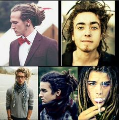 People. Guys With Dreads.