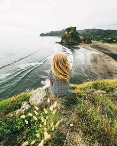 Cruisin' with /eljackson/ Blond girl sea mountains