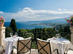 Taormina's first hotel, this legendary landmark overlooking Mount Etna has played host to countless luminaries, including Audrey Hepburn and Sophia Loren, since 1873. Besides perks like a complimentary coastal cruise and use of the private beach at sister property Belmond Villa Sant'Andrea, guests can tour the surrounding region in the resort's fleet of vintage Fiat 500s.