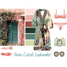lusso by ilaria-lookmaker on Polyvore featuring moda, Etro, Elle Macpherson Intimates, Dolce&Gabbana, Miu Miu and Karen Walker
