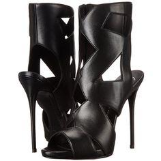Giuseppe Zanotti Women's Cutout Dress Sandal ($808) ❤ liked on Polyvore
