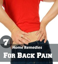 Home Remedies for Back Pain | Medi Tricks