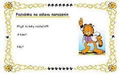 detská pozvánka na narodeniny - Hľadať Googlom Peanuts Comics, Party, Google, Parties