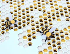 3D Beehive Paper-Cutting