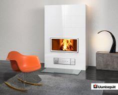 Uunisepät – Lumi. #habitare2014 #design #sisustus #messut #helsinki #messukeskus Decor, Living Room, Room, House, Home Decor, Fireplace