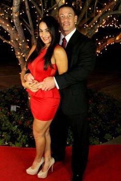 Nikki Bella & John Cena Together #WWE #wrestling #superstars #Bellatwins