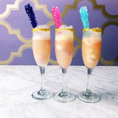 These Glitter Unicorn Mimosas Are Here to Make Your Brunch Even More Lively  - Cosmopolitan.com