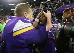 NFC Divisional Round Recap: Saints Mount Epic Comeback But Then Vikings Mount A Better One - Sports Betting News New Orleans Nfl, Stefon Diggs, Minnesota Vikings Football, Nfl Playoffs, Sports Images, Wide Receiver, Comebacks, Saints, January 14