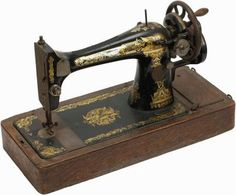 """Singer sewing machines have existed since 1851. From the cast iron treadle-operated machines before the advent of electricity, to the iron """"modern"""" machines of the 1950's, many a..."""