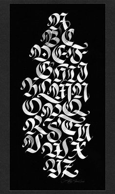 Alan Ariel / Modernizing a Traditional Calligraphic Hand: Blackletter