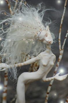 White birch Faerie Folk