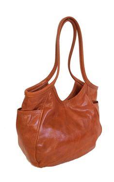 c017bac6418 Orange Leather Women s Tote Bag - Carryall Purse - Fashion Shoulder Handbag-  Handmade Casual Totes