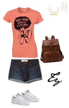 """Untitled #303"" by flydreamersfashion on Polyvore featuring Hollister Co., adidas and Brooks Brothers"