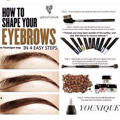 Tip Me Tuesday! Do you fill in your eyebrows? It makes a world of difference. Younique has a couple of options for you. Use a combo of our Prim (light brown) and Pristine (white to highlight) Precision Pencils and/or our Mineral Pigments in Irresistible or Beautiful. We have the best tools on the market. Let me help you out!