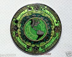 Tranquility - Green Giant - Nickel Finish - New Unactivated Geocoin  40 Minted