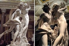 """One of my favorite pieces in the Galleria Borghese - Bernini's """"Apollo and Daphne"""". Pictures don't do it justice. Galleria Borghese is the museum I recommend everyone visit while in Rome. It's a diverse, well chosen collection that you can see in under 2 hours. It's one of my favorites - I've been countless times. (~expat in rome~)"""