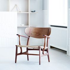 A product to be reissued this year by Carl Hansen & Søn is Danish designer Hans J Wegner's CH22 lounge chair – one of the first pieces the designer created for the furniture company.