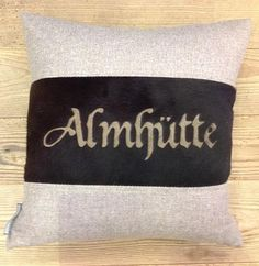 Almhütte pillow