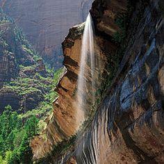 Top wow spots of Zion | Waterfall