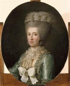 Marie-Adélaïde de France (1732-1800), dite Madame Adélaïde Auteur : Vallayer-Coster Anne (1744-1818) (attribué à)
