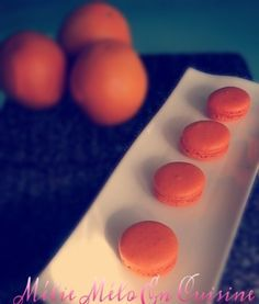 Macaron à l'orange Jus D'orange, Macarons, Quinoa, Biscuits, Tea Party, 2013, Html, Halloween, Table