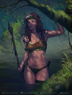 Savage Land Rogue by Krys Decker Marvel Comics. Savage Land Rogue by Krys Decker Marvel Comics. Fantasy Girl, Fantasy Art Women, Fantasy Warrior, Warrior Girl, Comic Art, Comic Kunst, Comic Books Art, Marvel Comic Books, Comic Book Artists