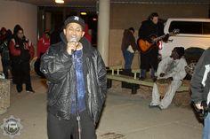 Men of Grace assist us in Caroling  photo credit: Detroit Metro Mashup