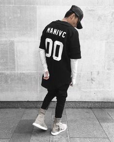 00 MANIVC  Shouts to @adynclothing & @thematerialist1 for the custom jersey. by blvckmvnivc