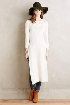 statement Piece? Side-Sliced Tunic - anthropologie.com