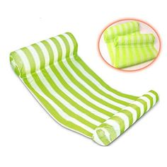 Yayan Premium Swimming Pool Float Hammock, Inflatable Swimming Pools Lounger, Luxury Swimming Pool and Ocean Lilo - Green -- You can get more details by clicking on the image.