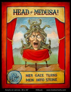 I once knew a woman called Lisa, she was no Medusa, but she could turn any man into stone. Old Circus, Dark Circus, Circus Art, Night Circus, Circus Theme, Circus Tents, Circus Cakes, Circus Clown, Circus Birthday