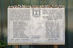 In Memory of the Munich Massacre genealogy project