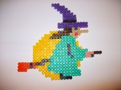 Witch - Halloween hama beads by Nath Hour