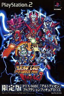 Super Robot Taisen Impact JPN ps2 iso rom download
