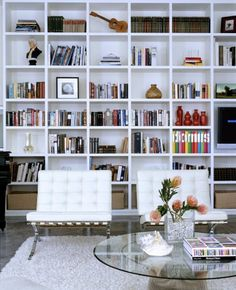 bookshelves and more bookshelves!