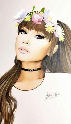 ARIANA GRANDE DRAWINGS  #KIMILOVEE  #THEWIFE  PLEASE DON'T CHANGE MY CAPTIONS OR YOU'LL BE BLOCKED!