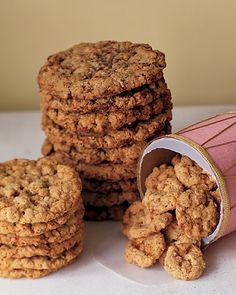 The BEST oatmeal cookies! The wheat germ takes them to a whole new level! Have made them for years.