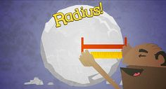 Here's a great rap video on circumference and area of circles.
