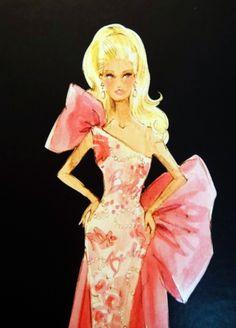 Rose Splendor AVON Barbie by Robert Best