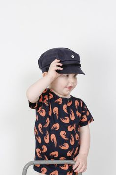 Captain cap for kids by emma och malena in collaboration with CTH