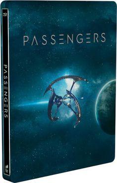 Passengers 3D (Includes 2D Version) Limited Edition Steelbook