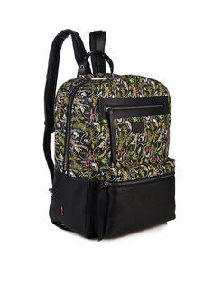 Aliosha printed-canvas and leather backpack | Christian Louboutin | MATCHESFASHION.COM US