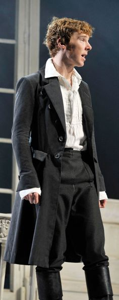 Benedict Cumberbatch 'Frankenstein'. I love this dude in period clothing.