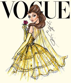 Capas de Vogue com as Princesas Disney | Just Lia