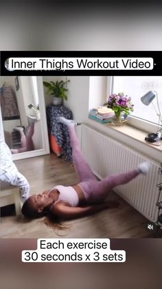 Hiit Workout Plan, Full Body Hiit Workout, Gym Workout Videos, Abs Workout Routines, Fitness Workout For Women, Weight Loss Workout Plan, Butt Workout, Inner Leg Workouts, Gymnastics Workout
