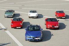 Alfa Romeo Spider heritage