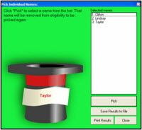 The Hat - great tool for randomly selecting students and creating partners. Only works on a PC - Sorry Mac users!
