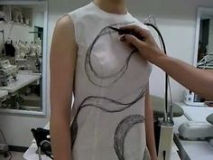 Shingo Sato does amazing things with fabric, I'm going to use this system to make a skirt