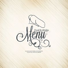 Restaurant menu design Stock Photo - 17989339